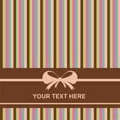 Colorful invitation card — Stock Vector