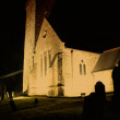 Stock Photo: Church lit up