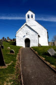 Petite église blanche — Photo