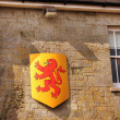 Stock Photo: Welsh dragon sign