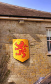 Welsh dragon sign — Stock Photo