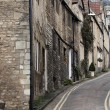 Stock Photo: Row of terraced houses