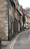 A row of terraced houses — Stock Photo