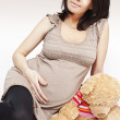 Pregnant girl — Stock Photo #5647283