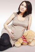 Pregnant girl — Stock Photo