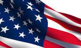 USA flag VECTOR — Stock Vector