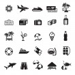 Signs. Vacation, Travel & Recreation. First set icons in black — Stock Vector #5828501