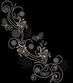 Květinový ornament — Stock vektor