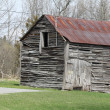 Old Rustic Shed - Stock Photo