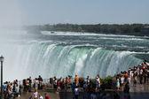 Niagara Falls at Brink — Stock Photo