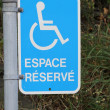 Royalty-Free Stock Photo: Handicap Parking