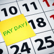 Pay day — Photo
