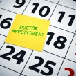 Doctor appoinment — Stock Photo #6427857