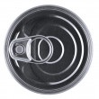 Pull ring can — Stock Photo