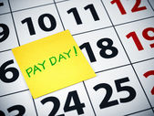 Pay day — Stock Photo