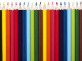 Ołówek wiersza — Zdjęcie stockowe