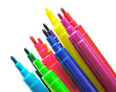 Colorful markers — Stockfoto