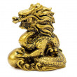 Stock Photo: Golden Dragon.