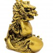 Golden Dragon. — Stock Photo