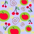 Royalty-Free Stock Imagen vectorial: Fruit background