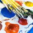 Painting kit. — Stockfoto