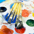 Painting kit. - Foto de Stock