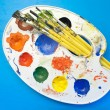 Painting kit. — Stock Photo