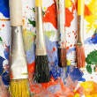 Paintbrushes. - Foto de Stock