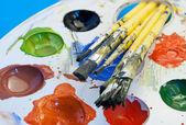 Kit di pittura. — Foto Stock