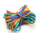 Rubber bands. — Stock Photo