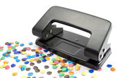 Hole puncher . — Stock Photo