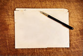 Vintage letter. — Stock Photo