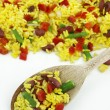 Stock Photo: Mexican frozen vegetables