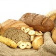 Various types of bread and other wheat products — Stock Photo #5531077