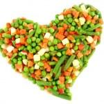 Zmrazená zelenina — Stock fotografie