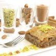 Sweet dessert  baklava — Stock Photo