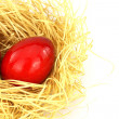 Red eastern eggs — Stockfoto