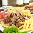 greek gyros — Stock Photo
