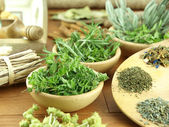 Herbs and spices — Stock Photo