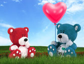 Love bears — Stock Photo