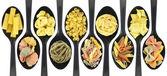Misc raw pasta — Stock Photo
