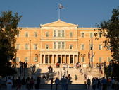 Syntagma of Athens — Stock Photo