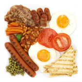 Traditional breakfast — Stock Photo