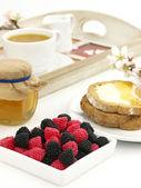 Breakfast set — Stock Photo