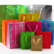 Shopping bags isolated on white background — Stock Photo