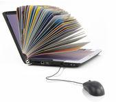 Biblioteca on-line — Foto Stock