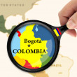 Focus in Colombia — Stock Photo