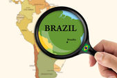 Focus in Brazil — Stock Photo