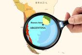 Fokus w argentynie — Zdjęcie stockowe