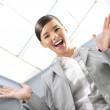 Happy businesswoman — Stock Photo #5389465